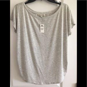 🆕 NWT Express One Eleven Grey Soft Shrug Shirt